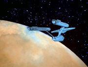 Enterprise im Orbit von Ariannus
