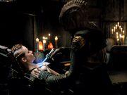 Klingon tattoo artist