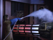 Nelson cooling down the dilithium chamber