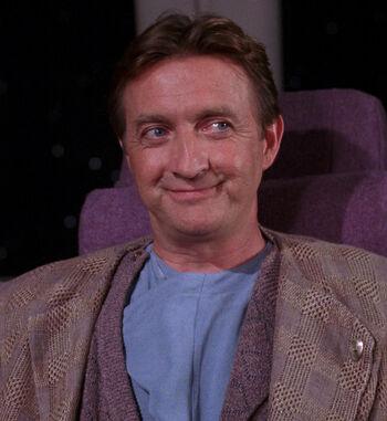 ...as Doctor Paul Stubbs