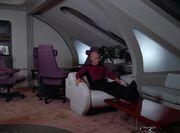 Picard in seinem Quartier