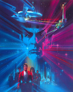 The Search for Spock Poster