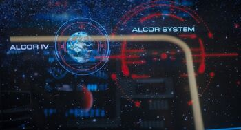 A diagram of Alcor IV and the Alcor system
