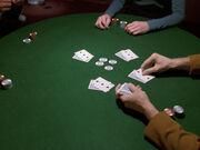 Austeilen am Pokertisch