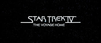 Title card for Star Trek IV: The Voyage Home