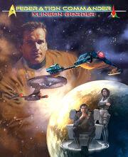 Federation Commander Klingon Border cover