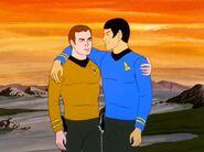 Kirk und Spock Freundschaft