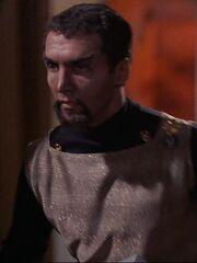 Klingonischer Lieutenant auf Organia 2267