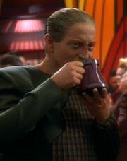 Mora drinking deka tea