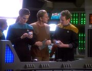 Odo ist über Siskos Reise mit der Kai verärgert
