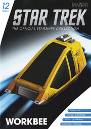 Star Trek Official Starships Collection Shuttle Issue 12