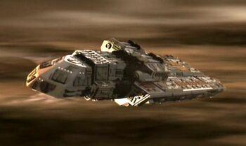 The cruiser SS <i>Xhosa</i>
