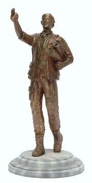 Cochrane statue