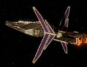 Hekaran starship