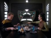 Keiko bereitet das Leibgericht von Miles zu