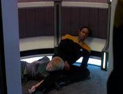 Kes und Tuvok sind bewusstlos