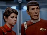 Saavik & Spock en 2285