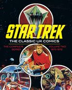 Star Trek Classic UK Comics Vol 2 cover