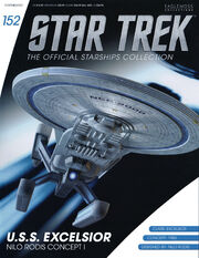 Star Trek Official Starships Collection issue 152