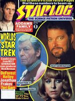 Starlog issue 173 cover