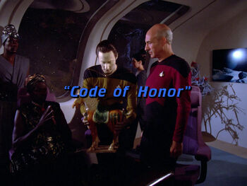 Code of Honor title card