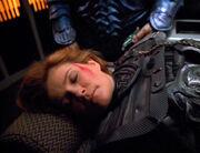 Captain Janeway auf der Krankenstation