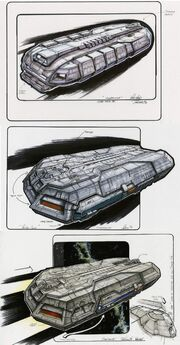 Federation Holoship final designs