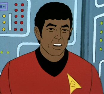 "Lieutenant Gabler, circa <a href=""/wiki/2269"" title=""2269"">2269</a>"