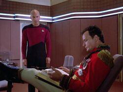 Picard Q Ready Room