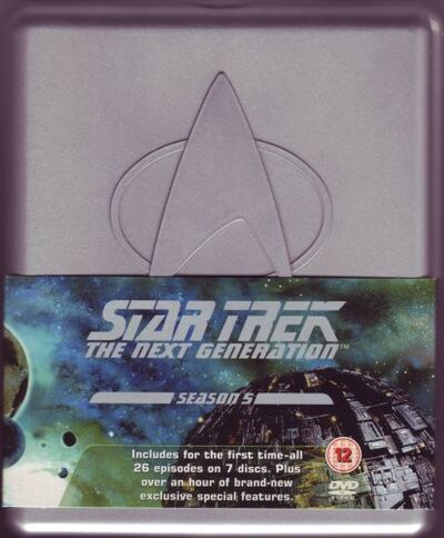 TNG Season 5 DVD-Region 2