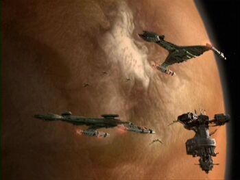 Ty'Gokor from orbit