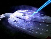 Voyager unter Beschuss