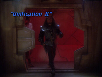 Unification II title card