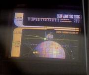Artificial satellite display