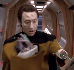 Data arm