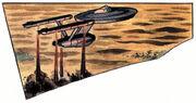 Enterprise lands on Carnak