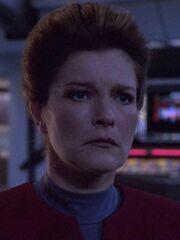 Hologramm Kathryn Janeway 2376