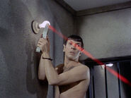 Spock's rubindium laser