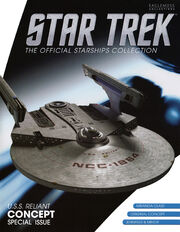 Star Trek Official Starships Collection USS Reliant Concept cover
