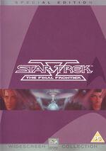Star Trek V The Final Frontier Special Edition DVD cover-Region 2