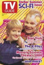 TV Guide cover, 1995-07-15