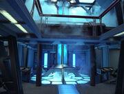 Voyager engineering, warp core breach