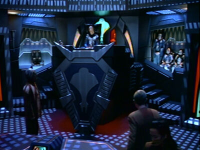 Cardassianischer Gerichtssaal Archon