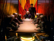 Ferengi conference on DS9 in 2369