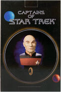 Legends In 3D Captains of Star Trek packaging