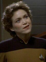 Lieutenant Enterprise-D 2369 Sternzeit 46388