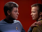 McCoy counsels Kirk