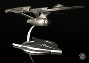 QMx USS Enterprise Refit desktop replica