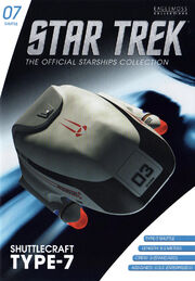 Star Trek Official Starships Collection Shuttle Issue 07