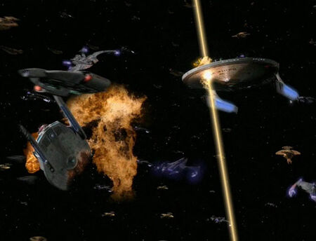 USS Sitak and USS Majestic hit
